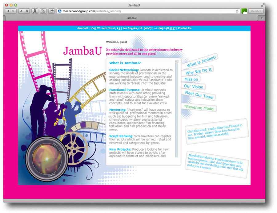 JambaU Website