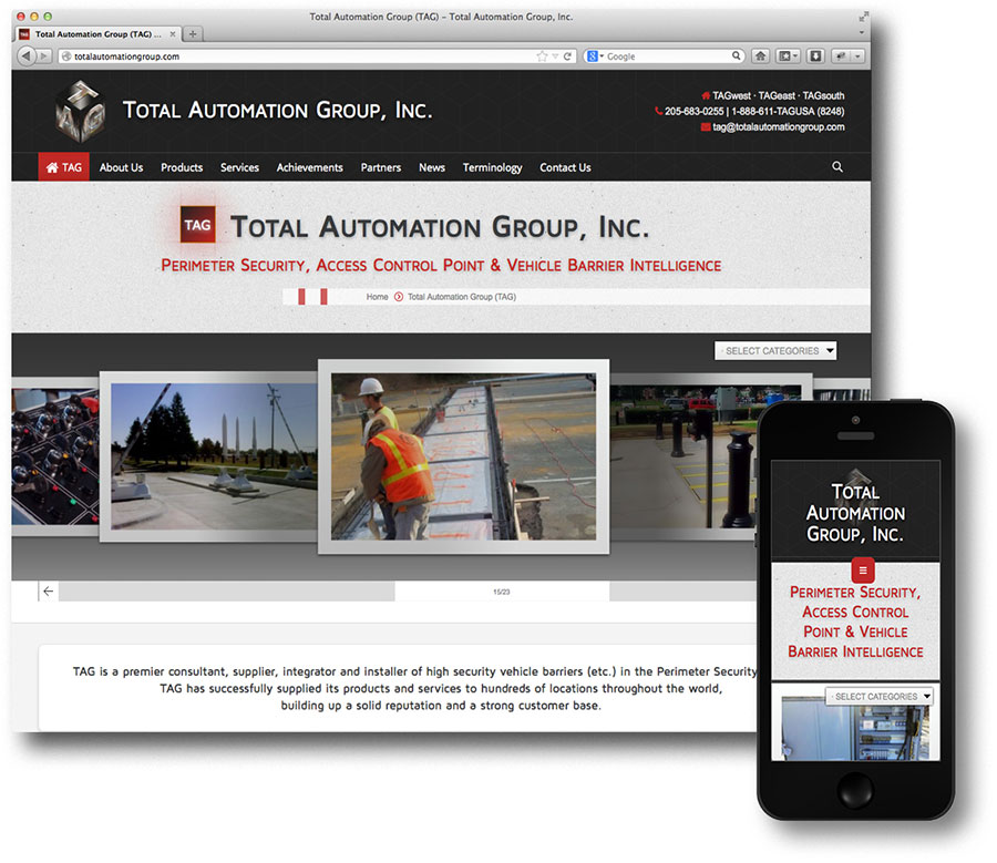 Total Automation Group Website