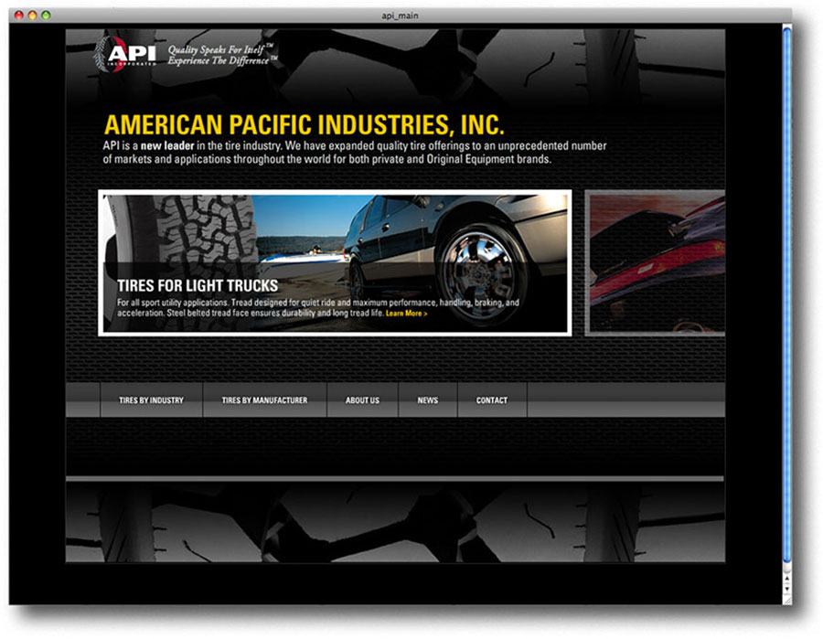 American Pacific Industries Website