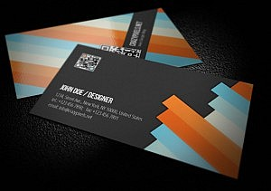 Business cards that work for you tips and best practices no matter what kind of pattern shows on the business card would it be stripes squares circles or triangles the main thing is a color scheme that fits colourmoves Choice Image