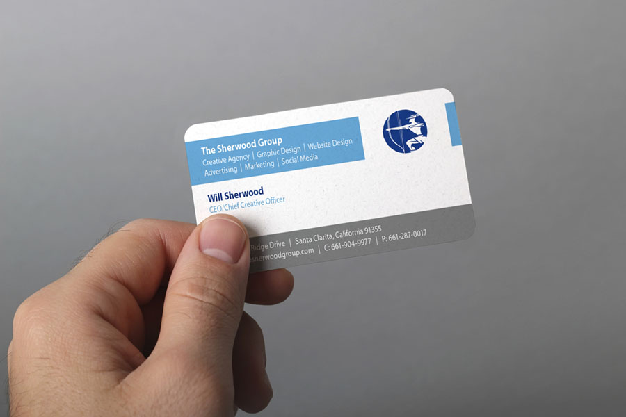 How to attract more customers through business card etiquette the sherwood group graphic design web design santa clarita business cards have long reheart