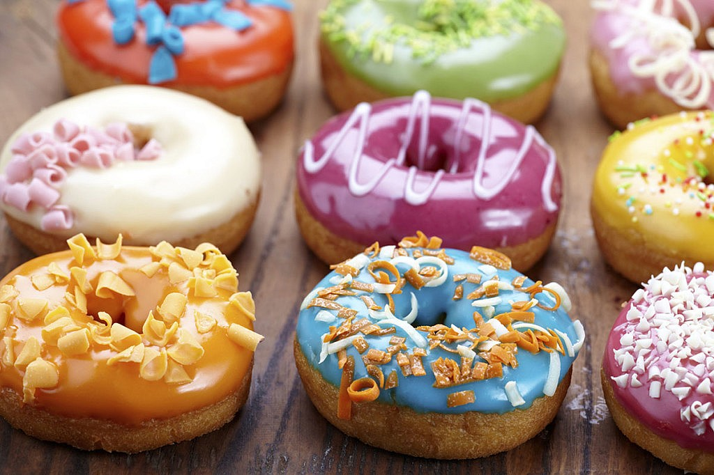 Donuts made by 3D printers