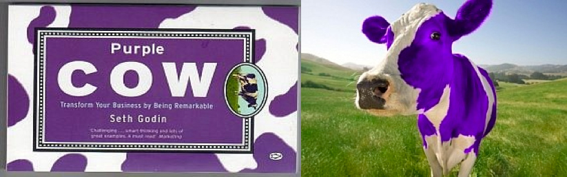seth godin purple cow image